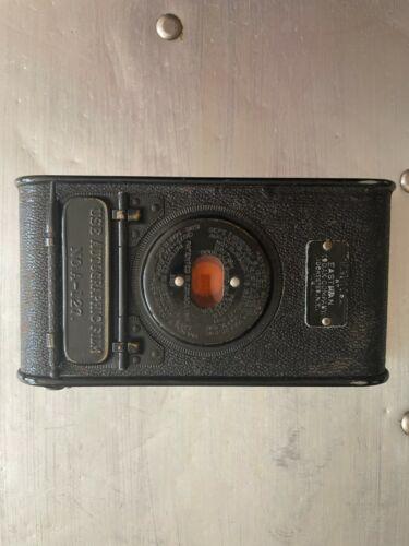 Kodak A-127 Autographic Vest Pocket Folding Camera Film w/ Leather Case