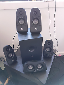 Logitech surround sound computer speakers Lutwyche Brisbane North East Preview