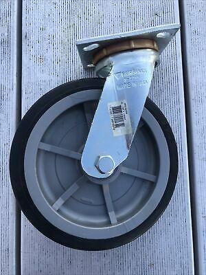 8 Fairbanks Swivel Caster 2 Polyolefin Hd Wheel 1200lb 9.5 Tall N22-8 Usa