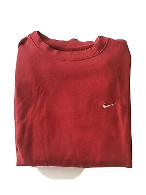 Red Nike Mens Jumper
