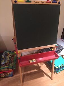 Melissa and Doug children's chalkboard and whiteboard