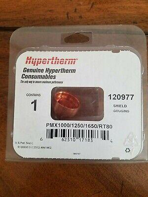 Hypertherm 120977 Shield Gouging Pmx100012501650rt80 Qty.1