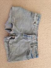 Ladies denim shorts size 10 Robina Gold Coast South Preview