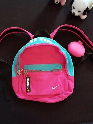 Pink Blue Mini Small Nike Backpack Ladies Girls Sporty Trendy cute