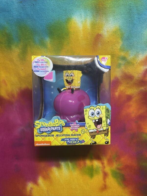 Spongebob Squarepants Jellyfish Racer Push & Go Nickelodeon