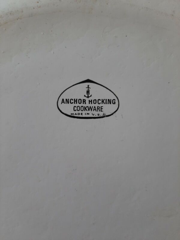 Anchor hocking cookware no lid