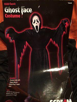 Scream 4 Ghost Face boys costume by Fun world - Scream Costumes For Boys
