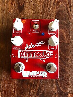 Wampler Pedals Pinnacle Deluxe Distortion Guitar Effect Pedal v1