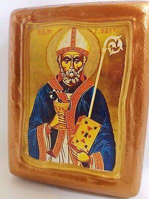 Saint Sabinos Sabinus Agios Savinos Rare Christianity  Icon