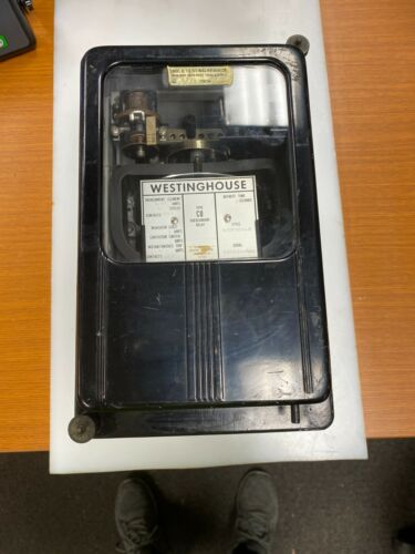 👀 WESTINGHOUSE TYPE CO OVERCURRENT RELAY 1A COIL 4-15A 60 CYCLE 1338958-A