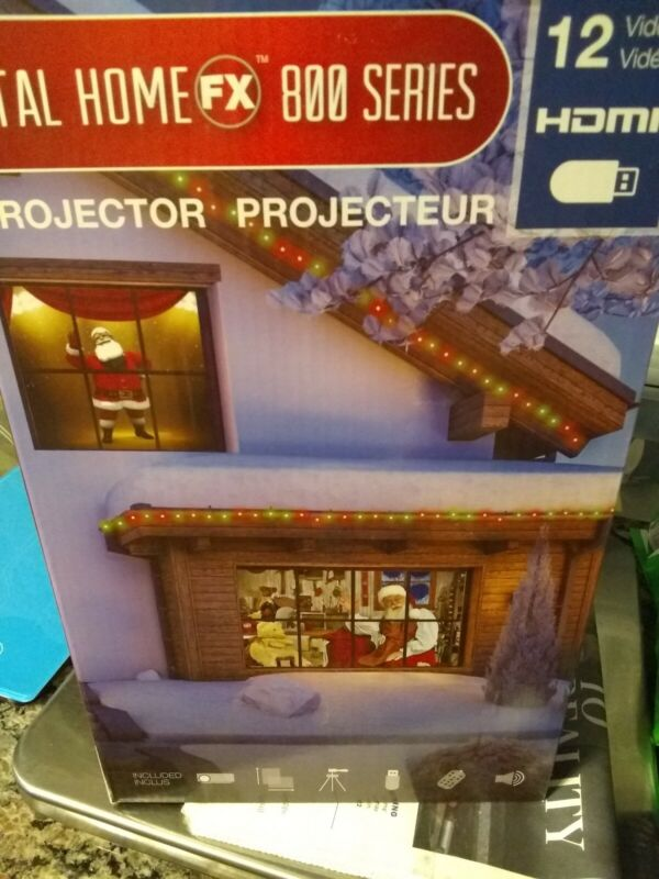 ProductWorks Total Home FX 800 Series Window Projector 12 videos $99