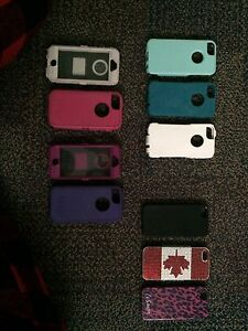iPhone 5/5s 4 Otter Box Cases + 3 others