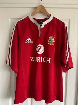 Mens Adidas British Irish Lions New Zealand Tour 2005 Rugby Shirt Size L Large