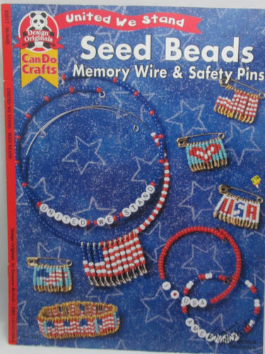 Design Originals United We Stand Seed Bead Memory Wire & Safety Pin Patterns