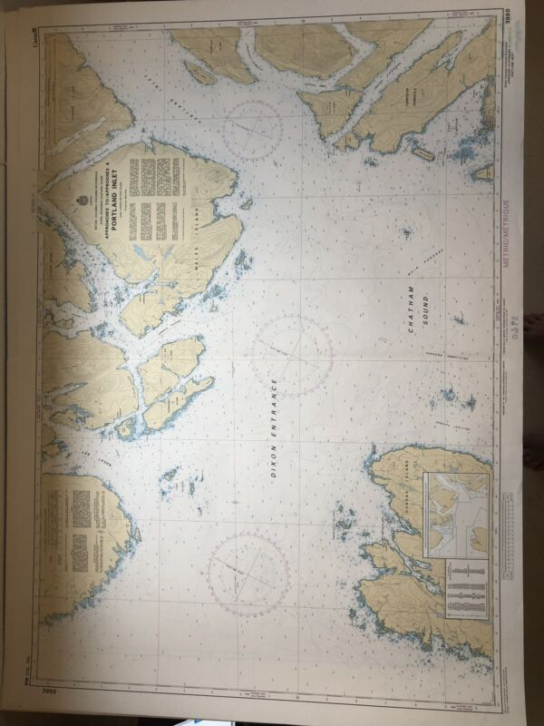 Vintage Nautical Map