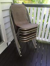X6 Retro vintage metal cafe dining chairs Bardon Brisbane North West Preview