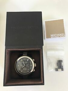Men's Michael Kors Black Ceramic Watch