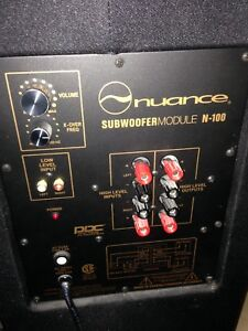 NUANCE PLATE AMP & SPEAKER REPLACEMENTS