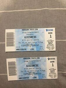 Alexisonfire tickets Sydney Broadbeach Waters Gold Coast City Preview
