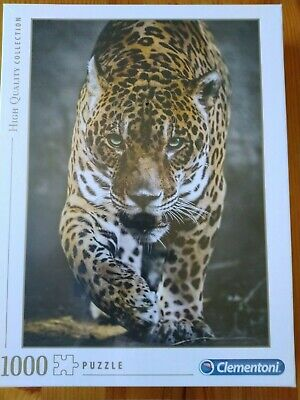 Clementoni High Quality Superbe Puzzle La transition de Jaguar 1000 Pièces NEUF