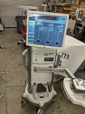 Amo Abbott White Star Signature Phaco Machine Nice Condition Ready For Pm