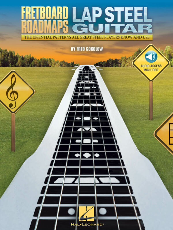 Fretboard Roadmaps for Lap Steel Guitar Lessons Learn to Play Tab Book & Audio