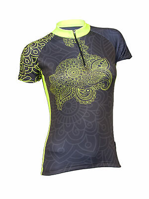 Outlet MIMO DESIGN NEW INDIAN Woman's Cycling Jersey Bike Shirt Biking Top Short (Designer Outlet New Jersey)