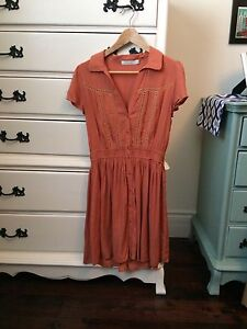 Short sleeve dress size S (mink pink fr urban outfitters)
