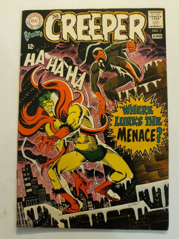 Beware The Creeper #1 Classic Steve Ditko 1968 VF