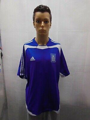 Vintage Greece Adidas 2004-2006 Jersey Blue Euro Kit Mallot Trikot L image