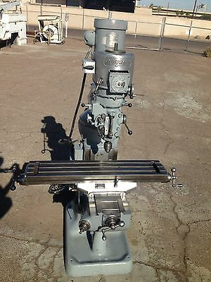 Bridgeport Variable Speed Vertical Milling Machine