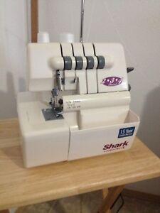 SHARK serger machine