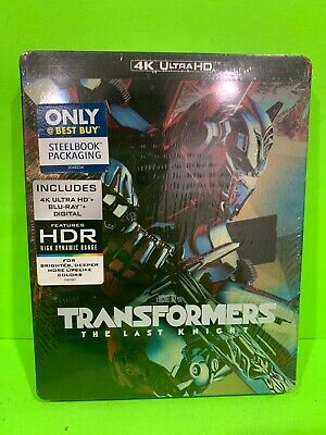Transformers The Last Knight Steelbook (4K UHD/Bluray/Digital)