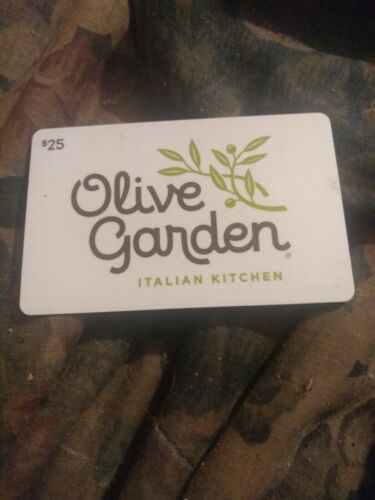Olive Garden Used Collectible Gift Card No Value H2 - $1.88