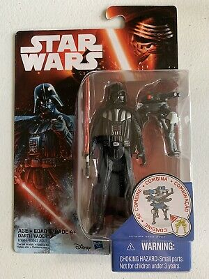 Star Wars: The Force Awakens DARTH VADER Action Figure 3.75 in. BRAND NEW