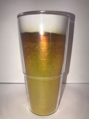 Tervis Tumbler Beer Glass Insulated Double Walled 24oz. No L