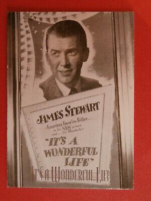 IT'S A WONDERFUL LIFE - COMPLETE BASE SET (72 cards) - James Stewart Frank Capra
