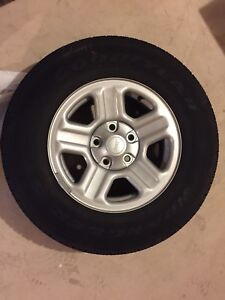 225/75 R16 (4) Brand New Tires and Rims