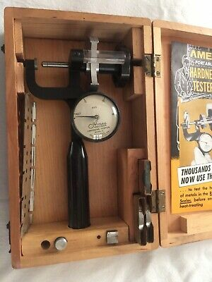 Ames Model S Hardness Tester Precision Machine