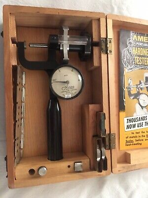Ames Model S Hardness Tester Precision Machine