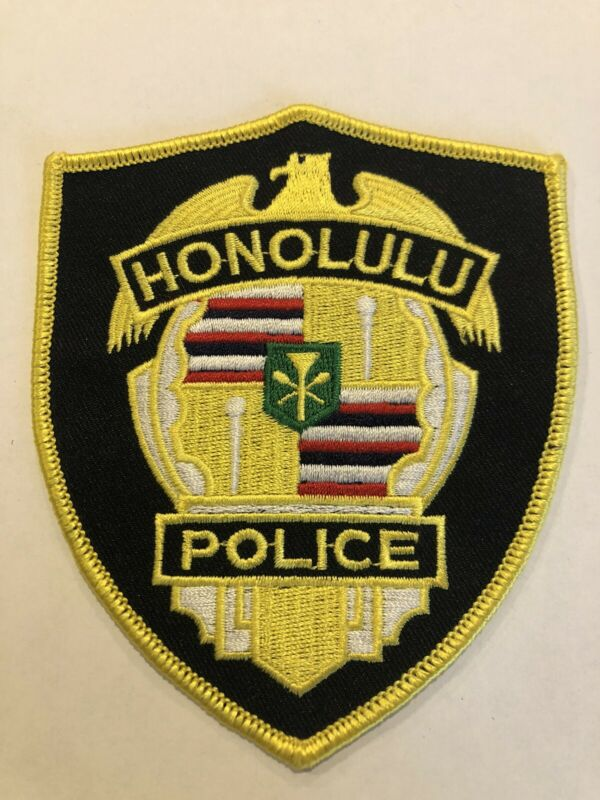 Honolulu Police Patch ~ New Condition