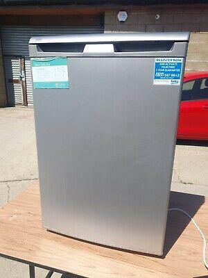 Beko UR584APS 101L A+ Free Standing Under Counter Fridge - Silver.