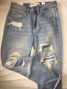 (never worn)garage mom jeans! tags still attached!