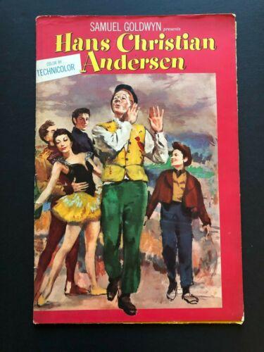 "Hans Christian Andersen Movie Folder/Pressbook (1952) - 36 Pages - 12"" x 18"" EX"
