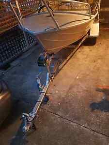 14.5 ft alluimim boat tinny Lutana Glenorchy Area Preview