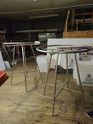 Round Rack Round Handrail 36 Chrome