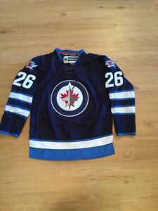 Authentic Brand New Wheeler Winnipeg Jets Homer Jersey M