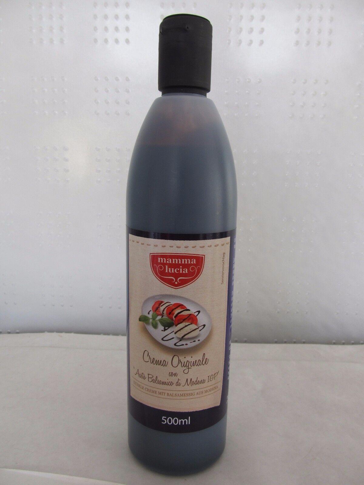 Mamma Lucia, Crema Originale con Aceto Balsamico di Modena, dunkle Creme, 500ml
