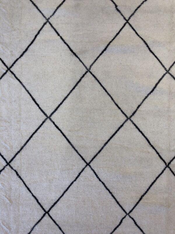 Marvelous Moroccan - Vintage Tribal Rug - Beni Ourain Carpet - 10 X 14 Ft.