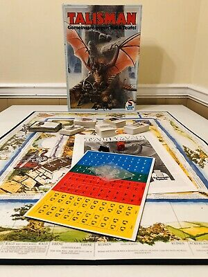 RARE Unpunched Unplayed TALISMAN The Magical Quest 1st German Edition 1986